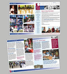 Educational Foundation for Rockport newsletter design