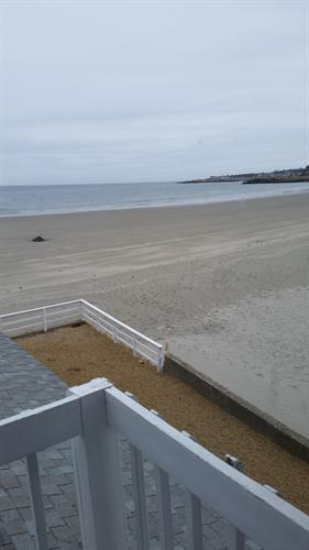 Walk from your room right out on to Good Harbor Beach