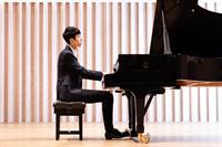 Eric Lu, piano at Shalin Performance Center