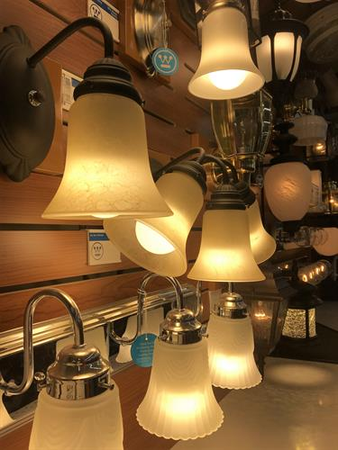 Lighting Fixtures and Hardware