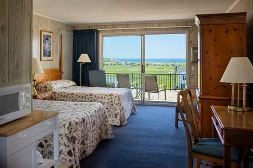 All rooms have ocean views