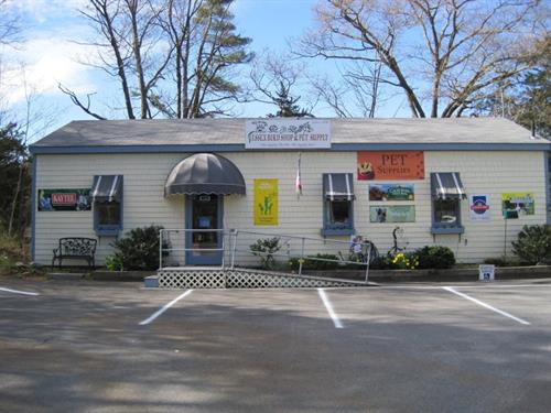 Essex Bird Shop & Pet Supply is located at 121 Eastern Ave. in Essex, MA next to Schooners Market.