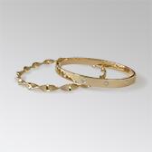 Custom gold bracelets