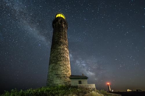 Thacher under the Milky Way by David Zapatka