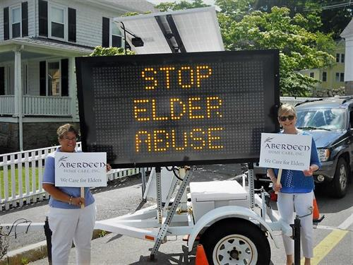 Aberdeen- Prevent Elder Abuse (Rally in Rockport)