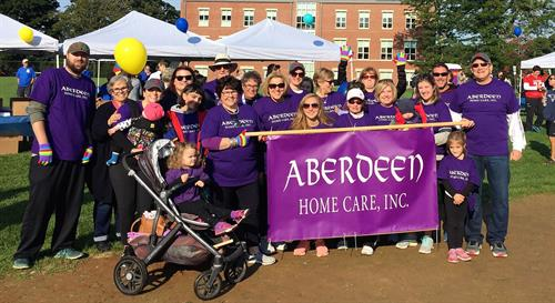 Aberdeen supports Care Dimensions - Walk for Hospice