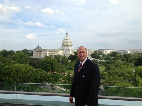 CEO Jonathan J. Pratt, CLF visiting Washington D.C. to meet with Congress to fight for client right.