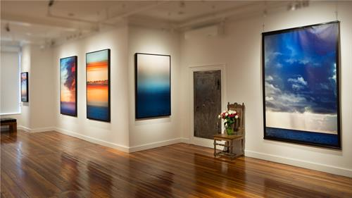 "Exhibition photo of ""Winston Boyer: Ocean"""