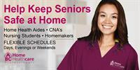 IMMEDIATE OPENINGS for Home Health Aides, Certified Nursing Assistants & Nursing Students!