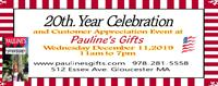 20th Year Celebration & Customer Appreciation Day