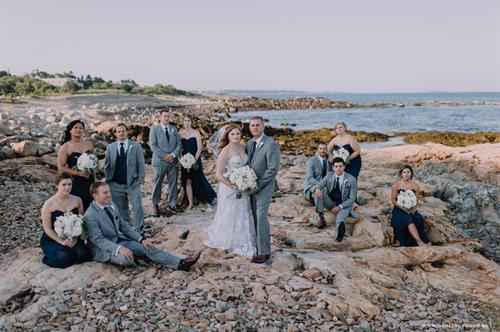 Wedding groups use our service to find scenic photo opportunities, or safe evenings out