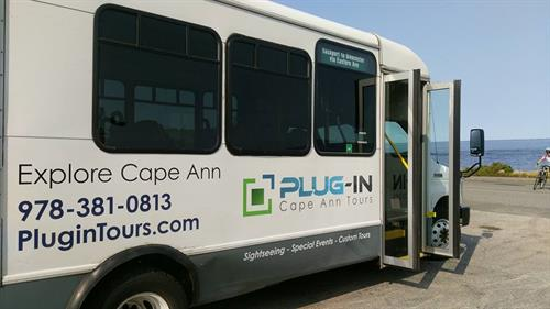 Our 14 Passenger Bus -- sit back and relax