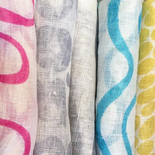 Fabulous Designer Scarves. 100% Linen.