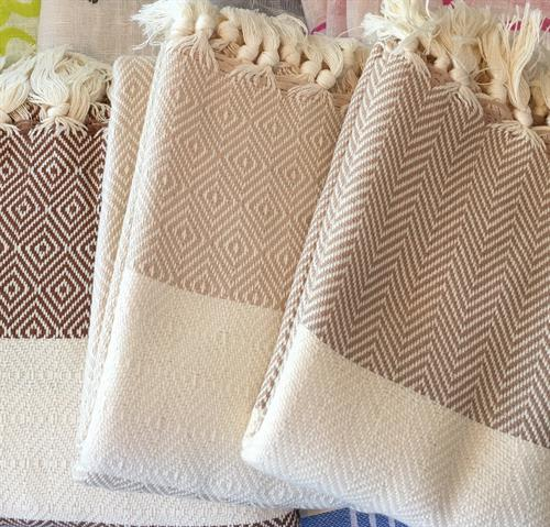 Turkish Cotton towels, blankets, throws, hand towels. Made in Turkey.