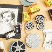 Home film reels, camcorder tapes, slides, negatives photos and albums!!