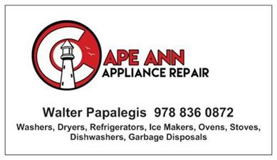 Cape Ann Appliance Repair