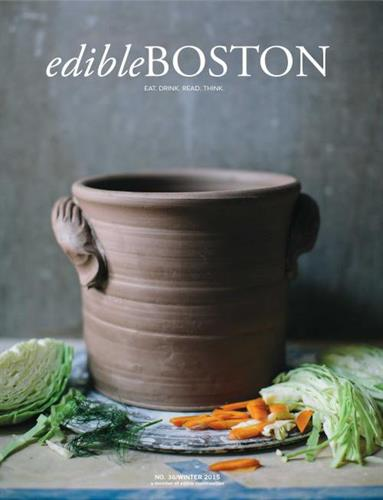 That Nutty Redhead was featured in the Winter 2015 issue of Edible Boston magazine