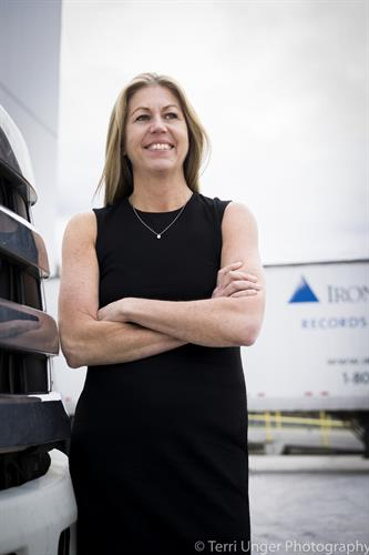 Iron Mountain executive, Boston. Photographed for Supply Chain world Magazine