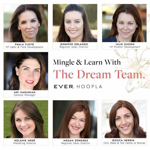 EVER's Dream Team with over 125 years in the beauty industry