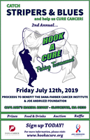 Hook A Cure Fishing Tournament