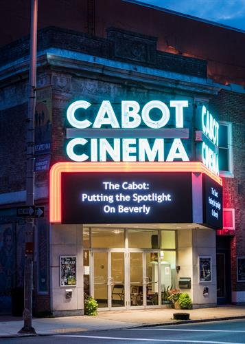 The Cabot's marquee
