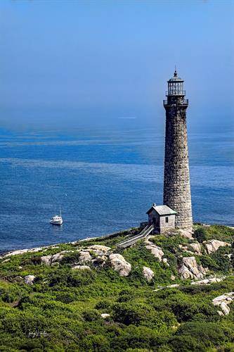 The North Tower of the Twin Lighthouses at Thacher Island