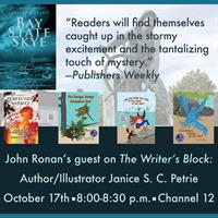 "Author, Illustrator Janice Petrie is John Ronan's guest on ""The Writer's Block"""