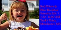 Manchester Essex Rotary Club Red White & Blue Breakfast at Tuck's Point