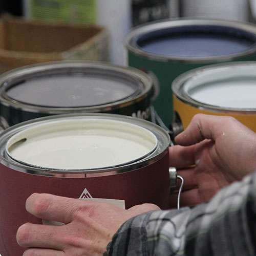 Benjamin Moore Paint Cans
