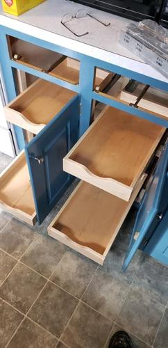 Custom Built Drawers for Cabinets