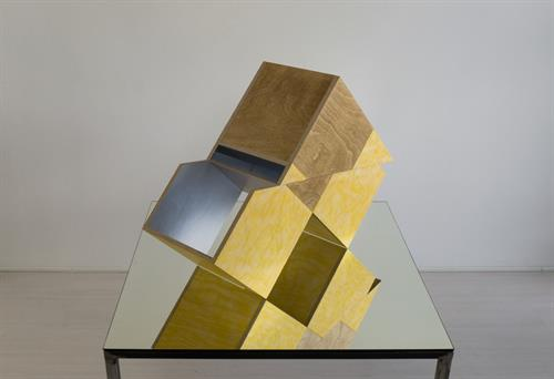 Birgit Faustmann (Germany) . Offset, 2 2016 . Wood, plexiglas