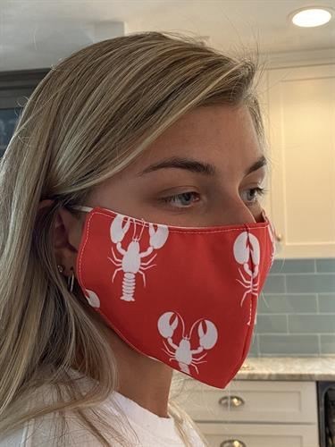 LOBSTER FACE MASK
