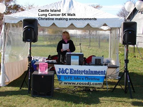 Castle Island Boston Lung cancer walk