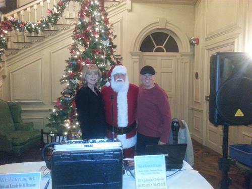 Christmas party at Crane Estate