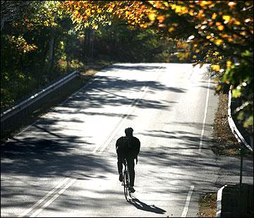 Biking up Boston's Gold Coast