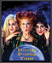 Hocus Pocus Self-Guided Tour