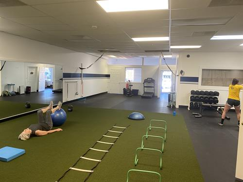 Fit Forward is designed for cross functional training.