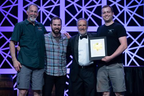 World Beer Cup Gold Award 2018