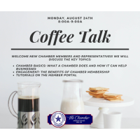 Coffee Talk - Welcome New Members and Representatives
