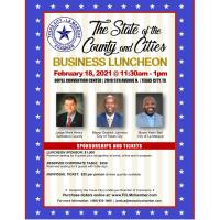 State of the Cities Luncheon POSTPONED