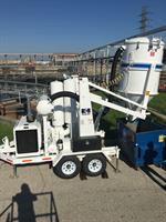 Vac-Loader on a job for The City of Houston