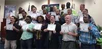 Forklift Certification Graduates