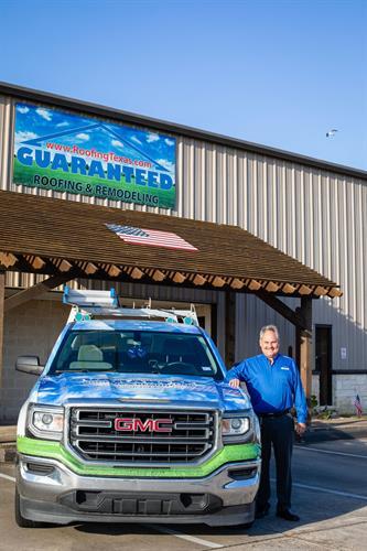 Roofing Specialist, Jim Thibodeaux