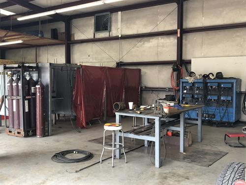 Welder Testing Booths