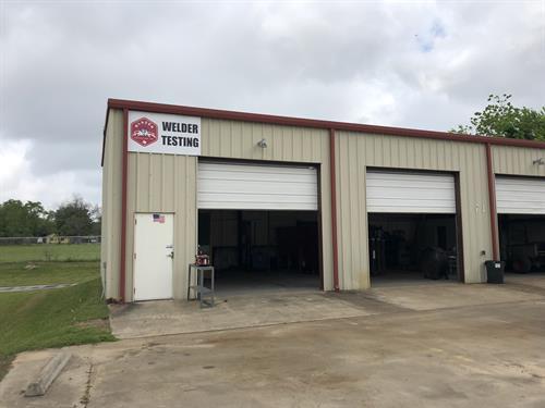 Welder Testing Shop