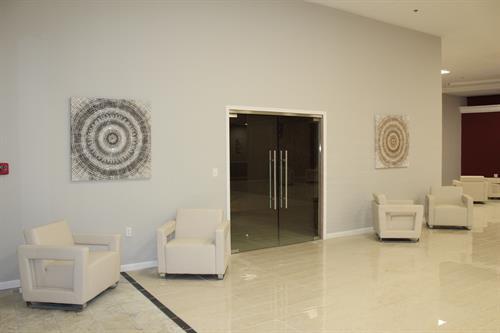 Stunning, modern decor