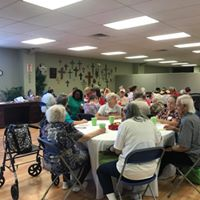 LCM's monthly luncheon for Senior Citizens