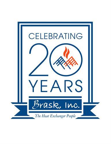 Celebrating 20 Years - Brask Inc, The Heat Exchanger People