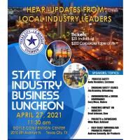 State of Industry luncheon - April 27