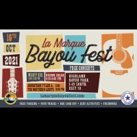 Bayou Fest in La Marque - Oct. 16 2021